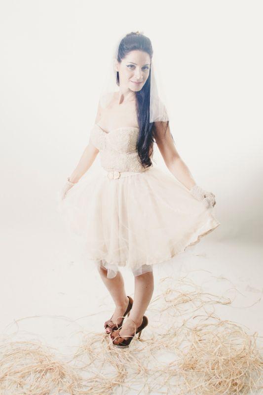 קורס עיצוב שמלות כלה וערב במכללת קונספט | עיצוב: נדיה איברהים עזיזי