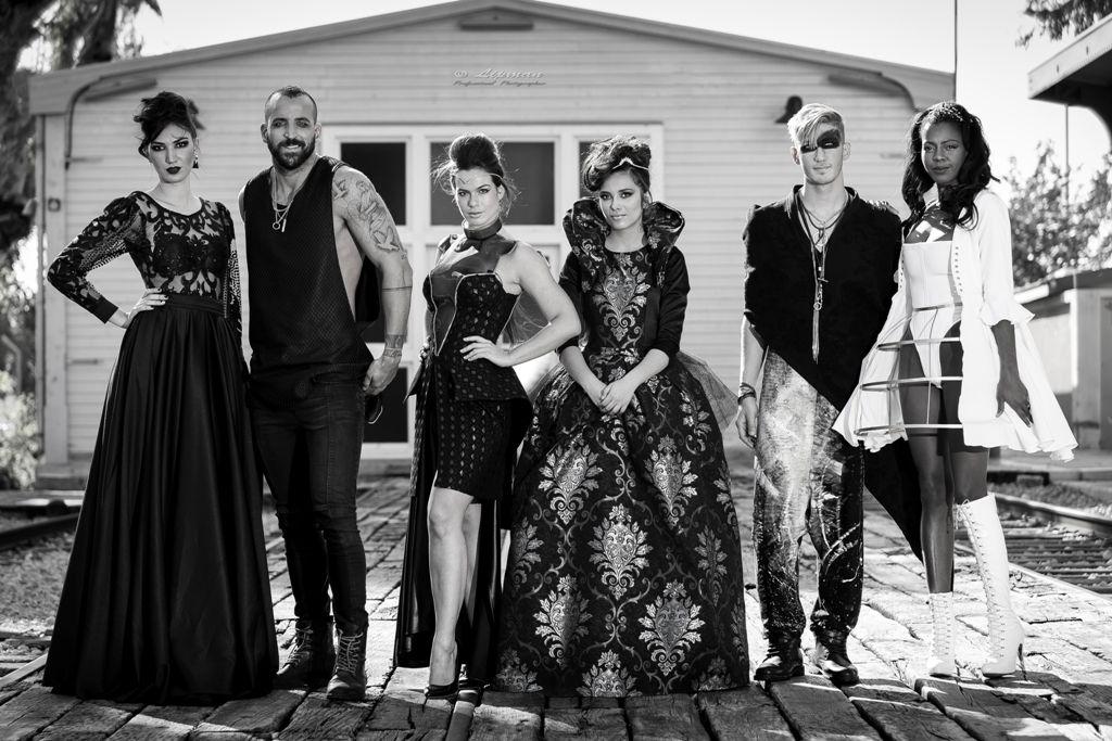 קורס עיצוב אופנה ובניית מיתוג אישי במכללת קונספט | מתוך תצוגת האופנה בלאק פריידי 2015 במתחם התחנה