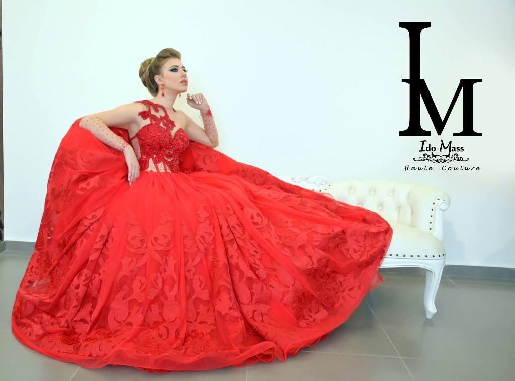 קורס עיצוב שמלות כלה וערב במכללת קונספט | עיצוב: עידו מסארוה