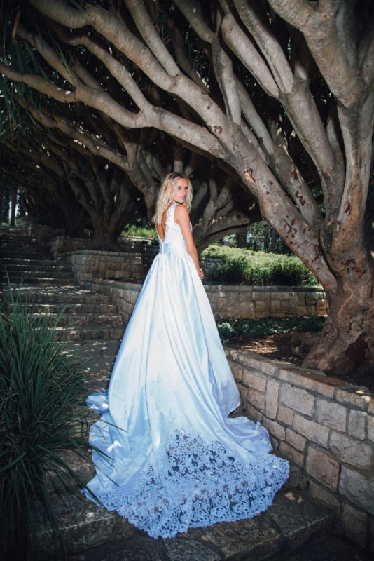 קורס עיצוב שמלות כלה וערב במכללת קונספט | עיצוב: טלי דוד פינטו