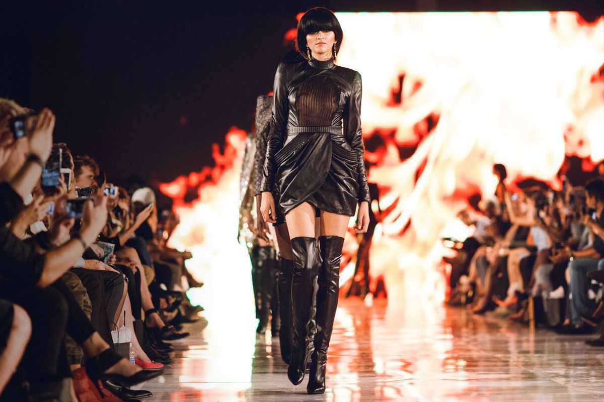 הפקת תצוגת אופנה של בוגרי המחלקה ללימודי עיצוב אופנה בקונספט